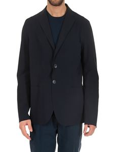 Herno - Blue 2 buttons jacket