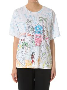 Marni - White printed t-shirt