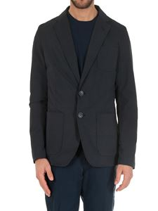 Herno - Blue lined 2 buttons jacket