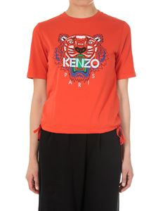 Kenzo - Red Tiger crew neck t-shirt