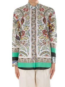Etro - Floral and paisley printed shirt