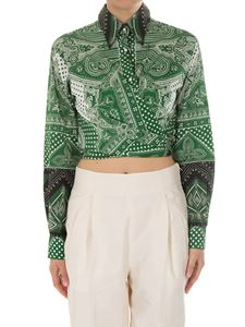 Etro - Geometric and paisley printed shirt