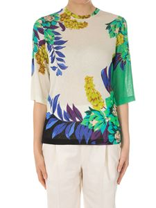 Etro - Roundneck knit top