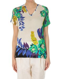 Etro - Short-sleeves knit top
