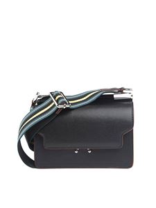 Marni - Black leather Mini Trunk bag