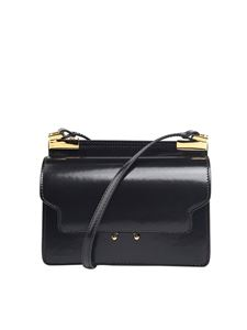 Marni - Mini Trunk brushed leather bag