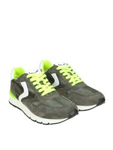 Voile Blanche - Army green Liam Race sneakers