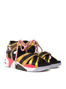 Marc Jacobs  - Somewhere Sport satin and mesh sandals
