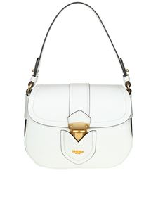 Moschino - White leather shoulder bag