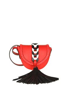Red Valentino - Red leather bag with maxi tassel