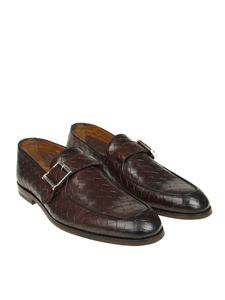 DOUCAL'S - Dark brown leather shoes