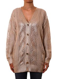 Twin-Set - Golden coated cardigan