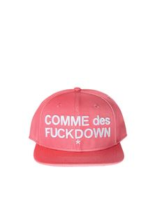 Comme des Fuckdown - Pink baseball cap with logo