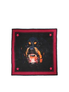 Givenchy - Rottweiler printed scarf