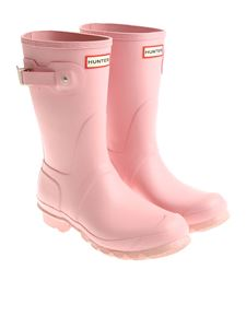 Hunter - Light pink low boots