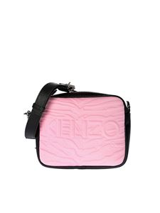 Kenzo - Pink and red Camera shoulder bag