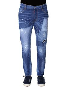 Dsquared2 - Light Patch Pocket Skater Jeans
