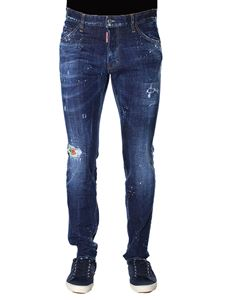 Dsquared2 - Hawaiiana Cool Guy Jeans
