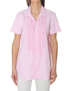 Dsquared2 - Pink stretch cotton shirt