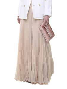 Max Mara - Liege lined georgette trousers
