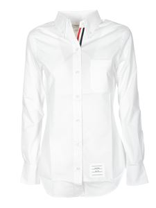 Thom Browne - Button-down shirt in white