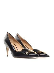 Sergio Rossi - Black leather SR1 pumps