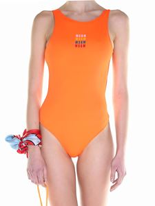 MSGM - Orange swimsuit
