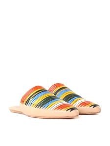Tory Burch - Multicolor Sienna pointy mules