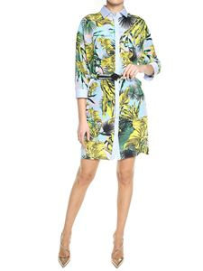Versace - Multicolor Beverly Palm print chemisier
