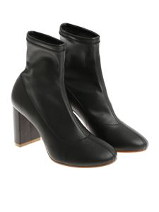 MM6 by Maison Martin Margiela - Black ankle boots