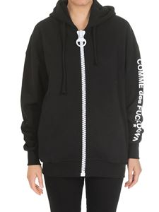 Comme des Fuckdown - Black jacket with hood