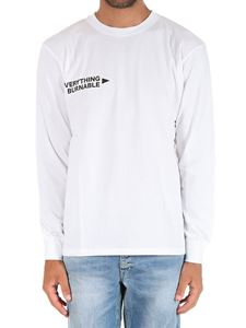 Society - White Everything Burnable sweatshirt