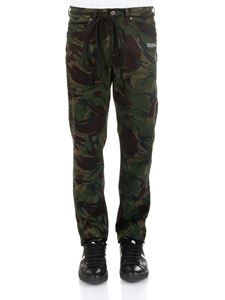 Off-White - 5 pockets Camouflage jeans