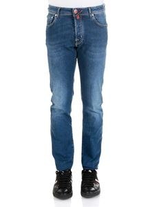 Jacob Cohën - Blue 5 pockets Jeans