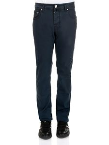 Jacob Cohën - Dark blue 5 pockets jeans