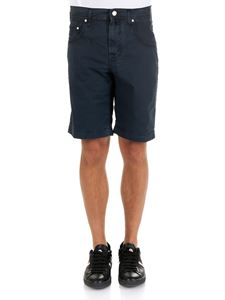 Jacob Cohën - Dark blue 5 pockets Bermuda