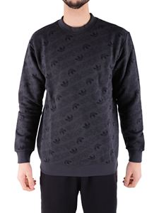 Adidas Originals - Dark gray Monogram sweatshirt