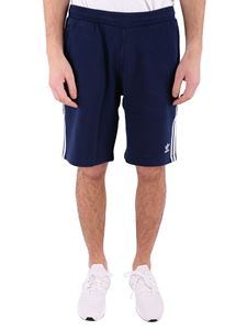 Adidas - Blue 3 stripes shorts