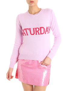 Alberta Ferretti - Pink Tuesday wool and cashmere pullover