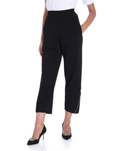 Stella McCartney - Black cropped trousers