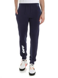 Off-White - Blue Wing Off trousers