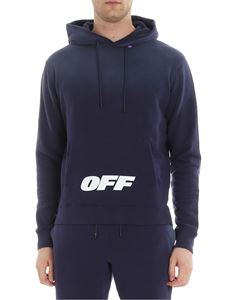 Off-White - Blue Wing Off hoodie