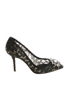 Dolce & Gabbana - Black lace pumps