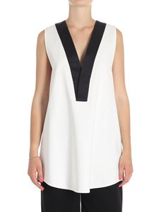 MM6 by Maison Martin Margiela - White viscose top