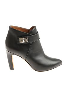 Givenchy - Black Shark Bottine ankle boots
