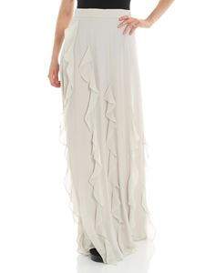 Max Mara - Ice color Serafin long skirt