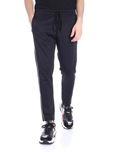 Valentino - Black trousers with white inserts