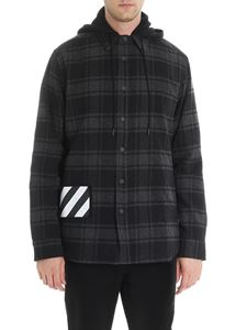 Off-White - Padded shirt with hood