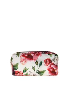 Dolce & Gabbana - Nylon necessaire with peonies print