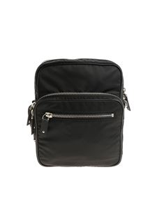 Valentino - Black VLTN shoulder bag